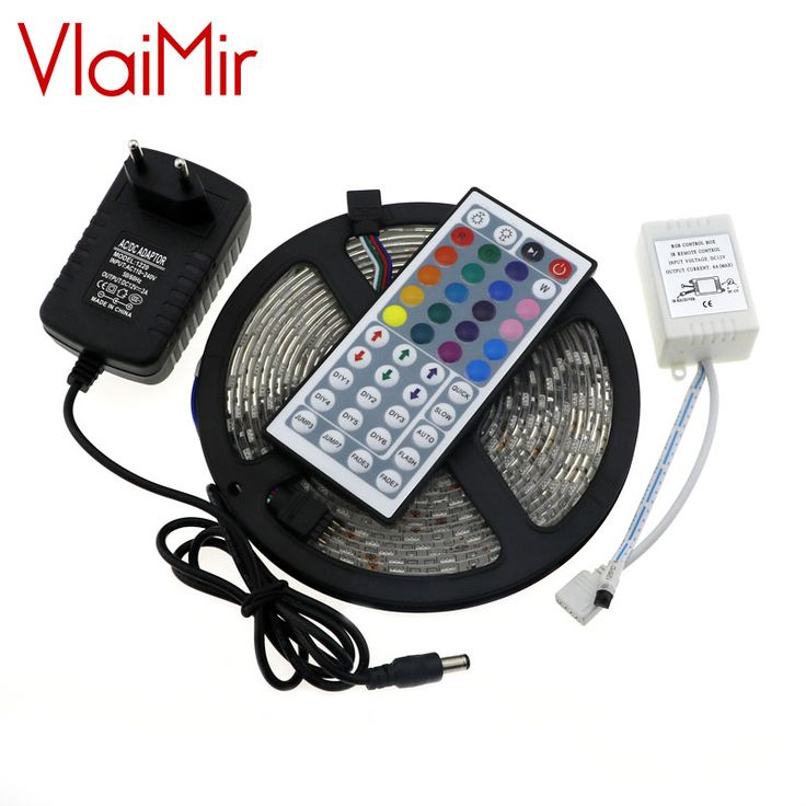 LED Strip 5050 IP65 Waterproof White Led Diode Tape SMD5050 300LEDs/Roll+DC Female +12V 2A Power Adapter EU US plug #Affiliate
