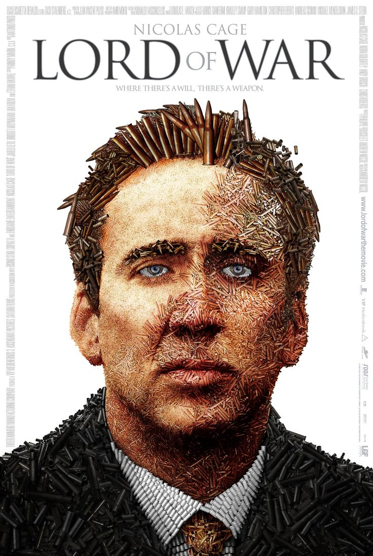 Lord of WarMovie Posters, Posters Design, Film Posters, Nicolas Cages, Andrew Niccol, Wars Movie, Lord, Favorite Movie, Wars 2005