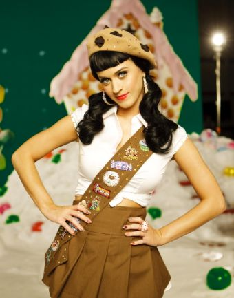 Katy Perry girl scout costume - Halloween costume
