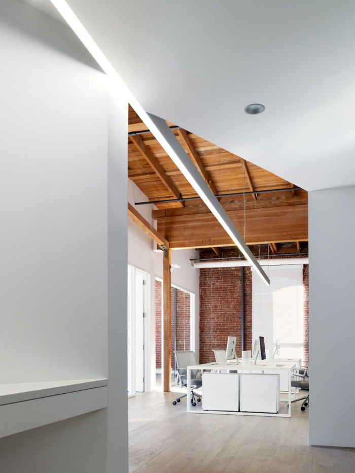 Index Ventures Beautifully Minimal SoMa Offices - lighting detail