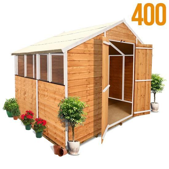 Best 25 cheap wooden sheds ideas on pinterest cheap for Cheap playhouse kits
