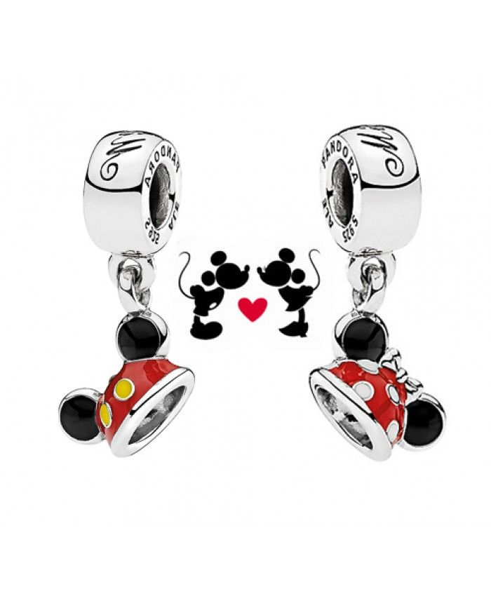 Cheap Pandora Disney Mickey And Minnie Ears Gift Set Sale