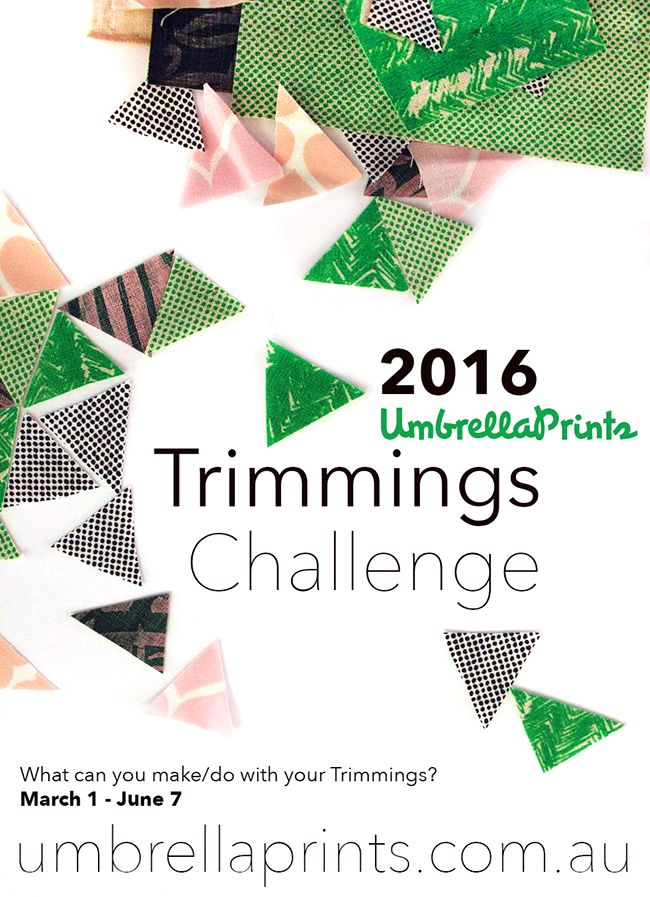 The 7th Umbrella Prints Trimmings Challenge 2016