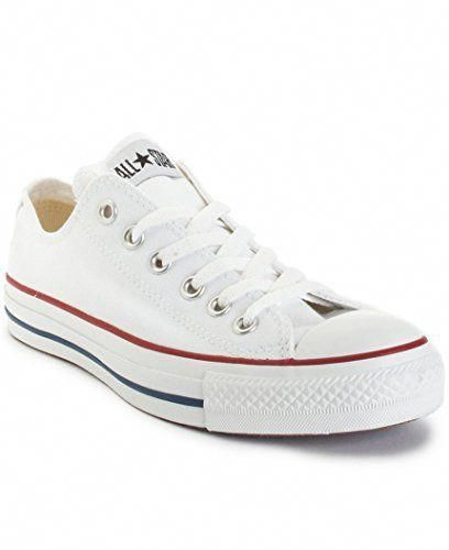 331d536511348 Converse Unisex Chuck Taylor All Star Ox Low Top Optical White Sneakers 6 D  (M) Optical white  SantoniWomensshoesReview