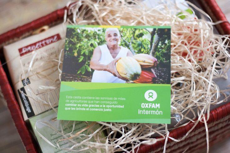 Cestas de Navidad Oxfam Intermon. Un regalo con historia