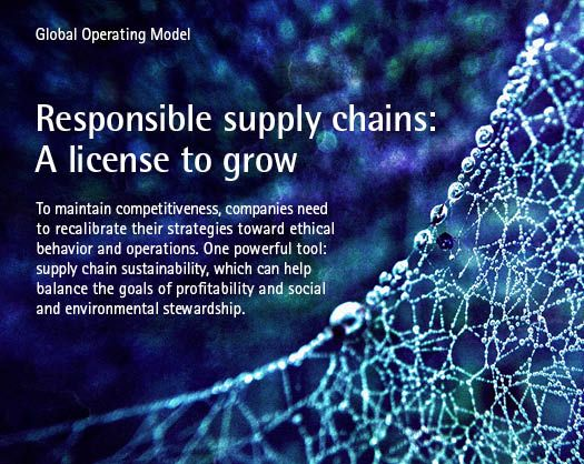 Responsible supply chains: A license to grow