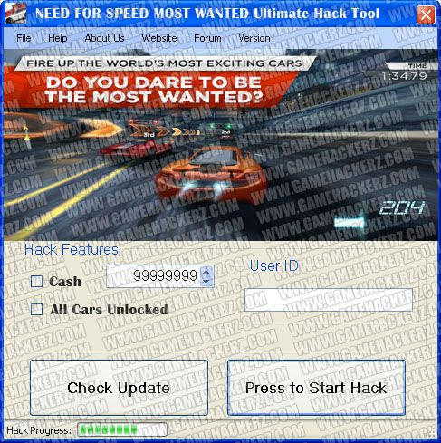 New Hack for NFS MW For Android Ipad and Iphone
