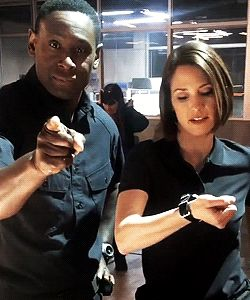 Hey guys, this is David Harewood and Chyler Leigh