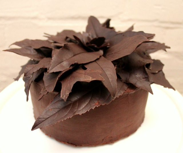 Chocolate Ganache cake for a competition