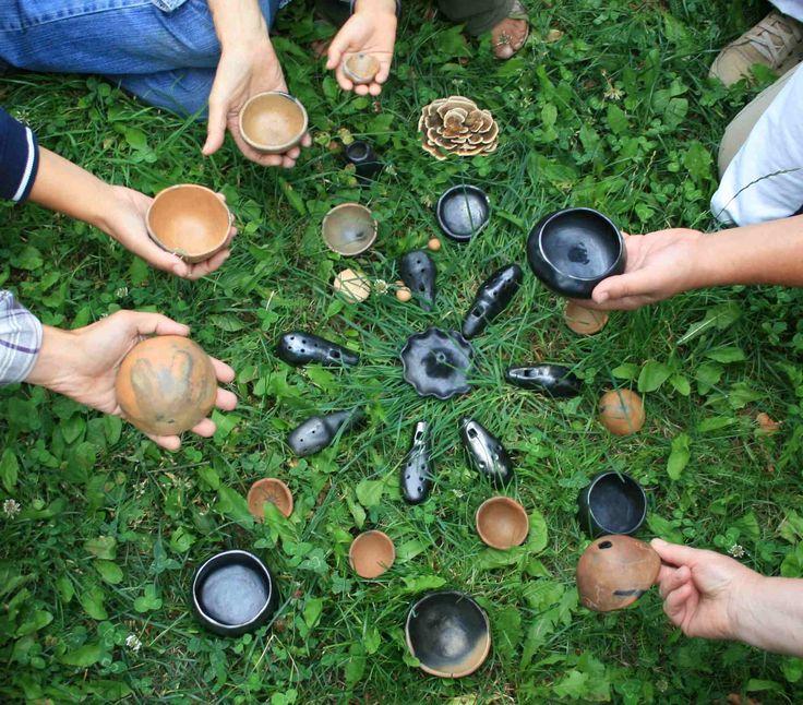 Realizzazioni. Workshops di Ceramica Preistorica by Giovanni Maffucci