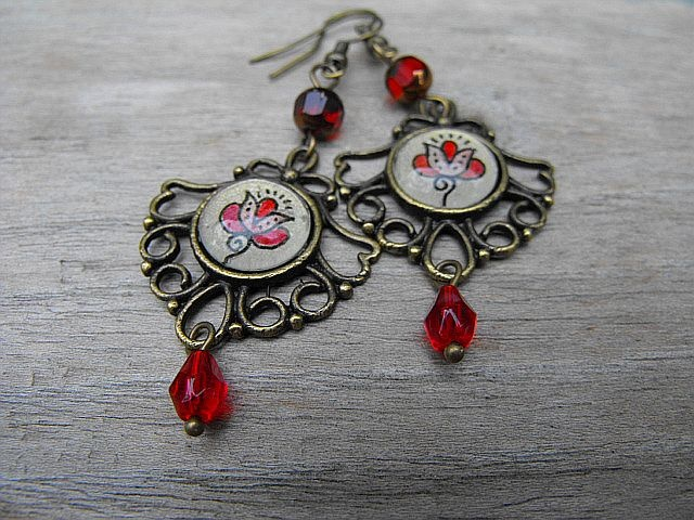hungarian design earring