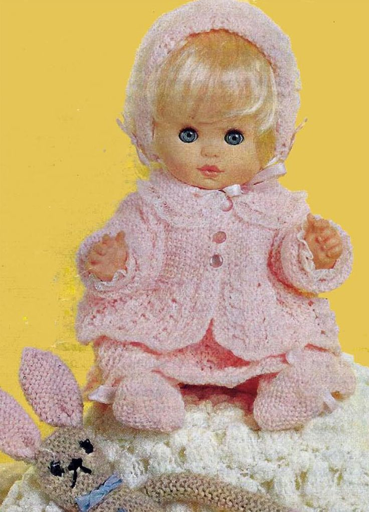 38 best 12 inch dolls clothes images on Pinterest   Knit patterns ...