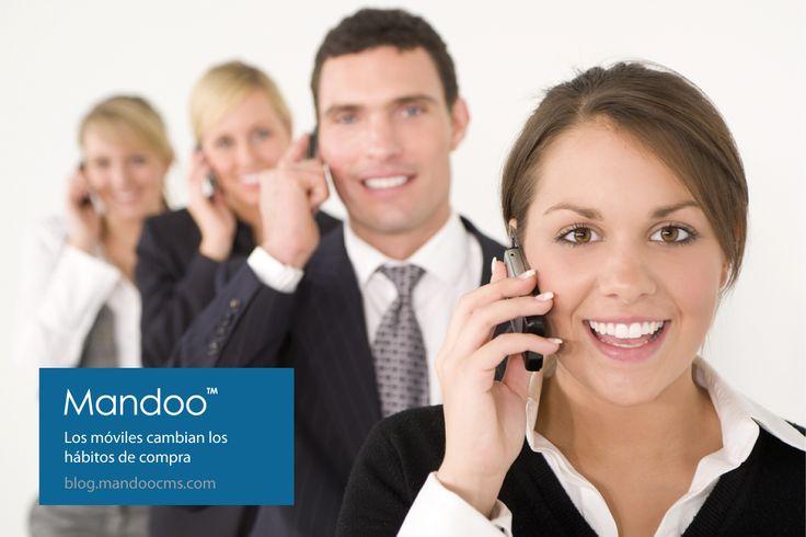 Los móviles están cambiando los hábitos de compra | http://blog.mandoocms.com/2013/08/22/moviles/