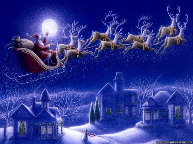 Santa & Reindeer!