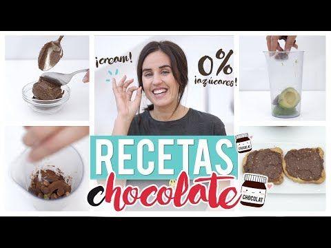 (2) Nutella light casera para untar BAJA EN CALORÍAS | Recetas fáciles GymVirtual - YouTube
