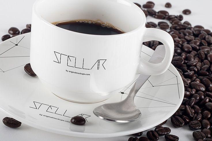 Original Mockups - Coffee Cup Mockup 01