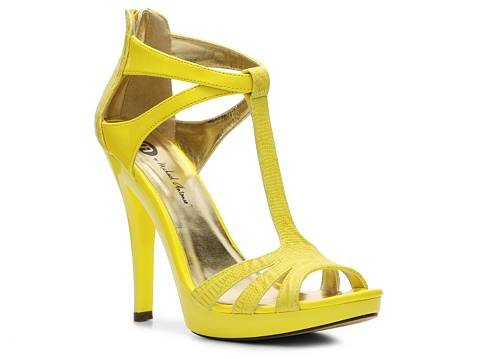 Dsw Yellow Heels 40 Dsw Shoes Sandals Shoes