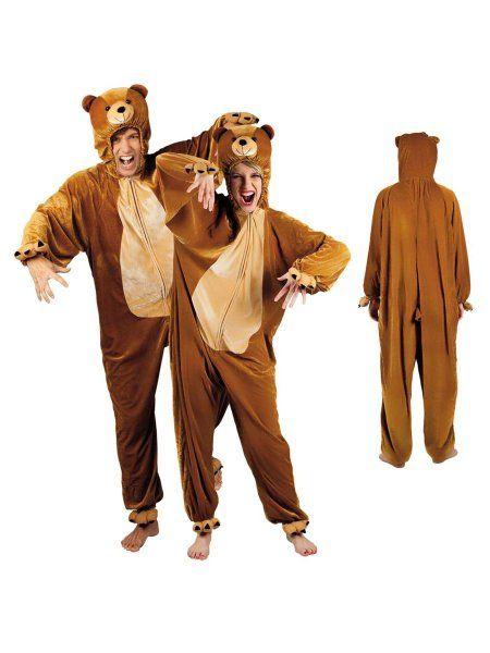 """https://11ter11ter.de/59021898.html Plüschkostüm """"Bär"""" für Erwachsene #Karneval #Fasching #Mottoparty #11ter11ter #Outfit #Kostüm #Partnerkostüm #Twins #Plüsch #Bär"""