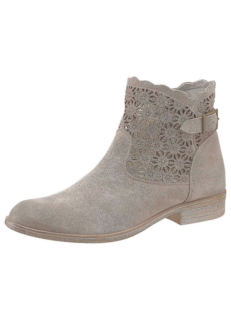 Tamaris Summer Ankle Boots - as a different option from sneakers or high tops.  Laser cut makes these cooler for summer