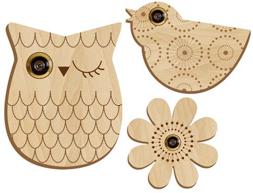 If I had a peephole on my front door I would totally be getting the owl!