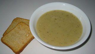 Crème de poireaux: Rajouter plus de patates que la recette pour une texture plus crémeuse!