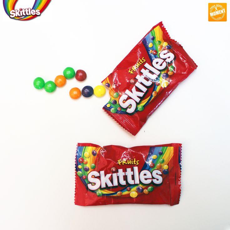 Commencez la semaine de façon acidulée et vitaminée avec les bonbons Skittles, qui vous attendront à la fin du parcours du Moment #20Minutes ! #VeryGoodMoment