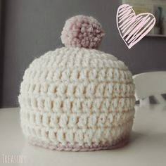 CutiePie Designs: Patroon baby mutsje 0-2 maanden