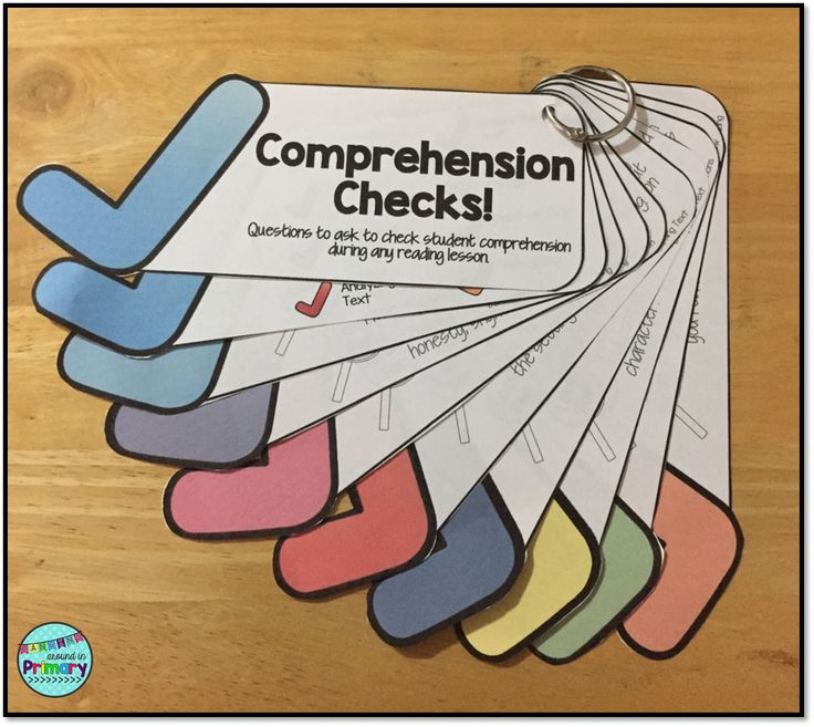 "More then just another set of comprehension questions: 36 questions for 8 different reading comprehension strategies. Each question has ""look fors"" to detail what your students should be thinking/saying. Perfect for Shared Reading and Guided Reading Instruction"