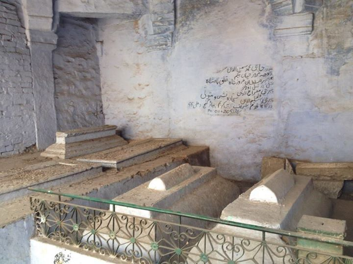 The Qadam Sharif complex also has the grave of Nawab Shamsuddin Khan- the Nawab of Ferozepur Jhirka and Loharu- who was hanged for the murder of William Fraser. Father of Daagh Dehelvi, famous Urdu poet