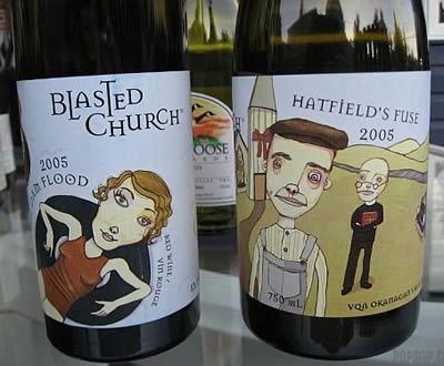 The Blasted Church is a small estate winery located in Okanagan Falls in Canada.