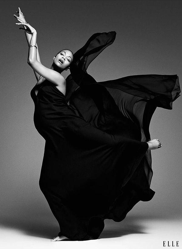Zoe Saldana Elle Magazine 2014