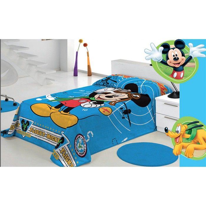 Quarto - Cobertor  Disney Mickey - Loja Textil - A sua Loja Online