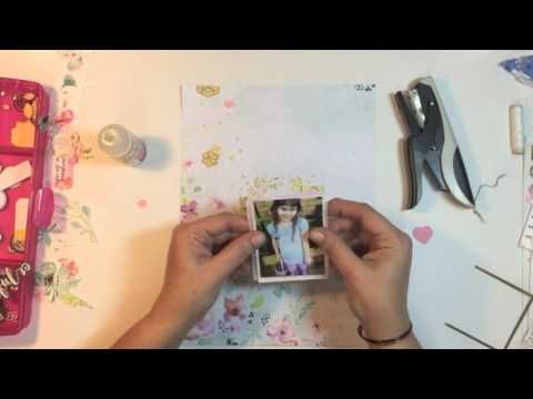 Kitaholic Kits - 12x12 Scrapbooking Process Video - April Kits