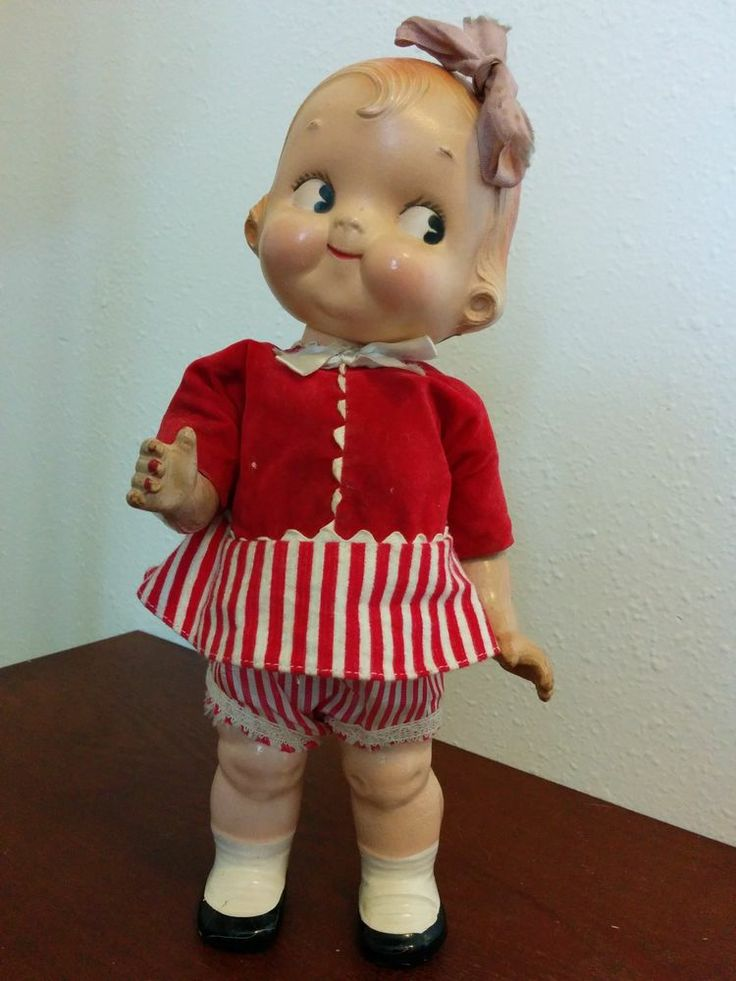 kewpie island vintage game coney doll