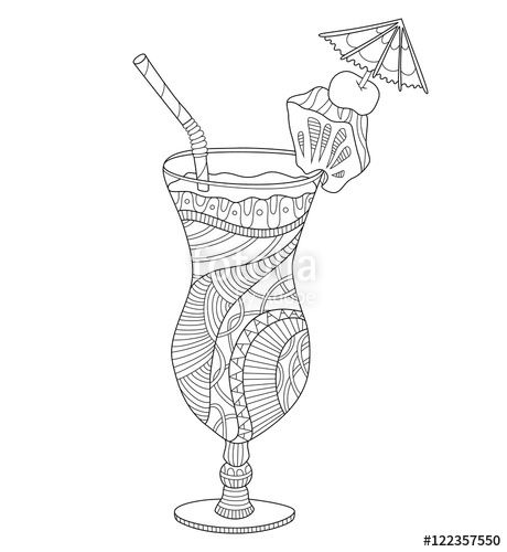 iced teas coloring pages - photo#24