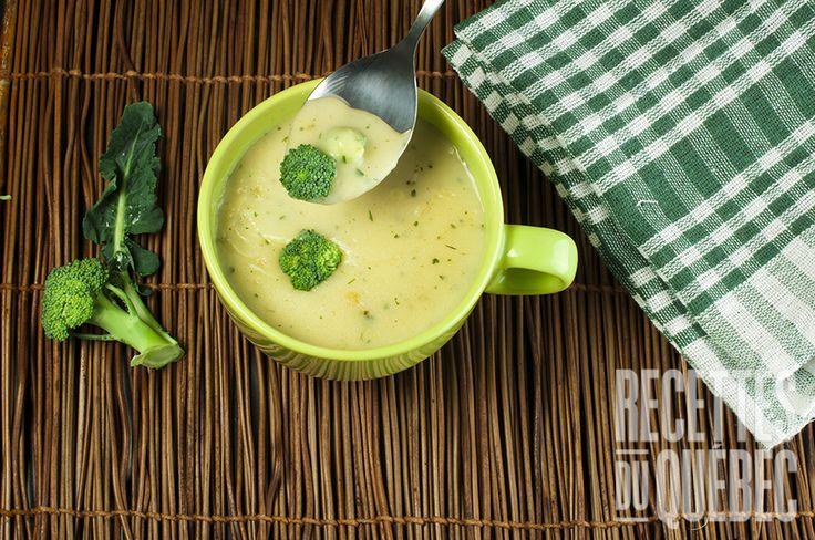 Crème de brocoli-grande