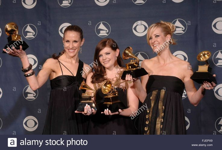 The Dixie Chicks (l-r), Emily Robison, Natalie Maines And Marti ...