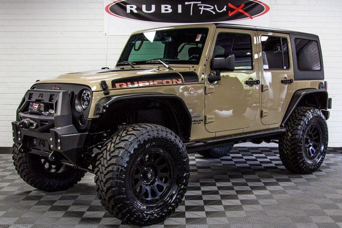 2018 Jeep Wrangler Rubicon Recon Unlimited Gobi In 2020 Custom