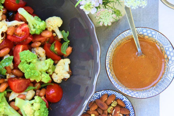 Cauliflower & romanesco salad / Salát s dvojím květákem