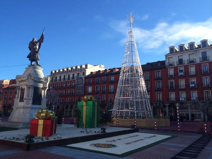 Valladolid Plaza Mayor Navidad