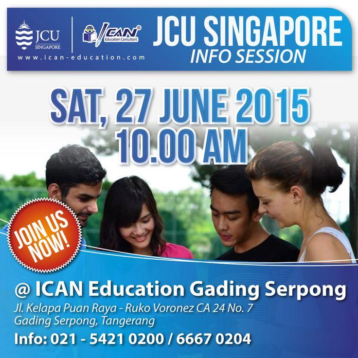 Cari tau segala incormasi kuliah di salah satu universitas terbaik Singapore @jcusingapore . Sabtu, 27 Juni 2015 #Gratis
