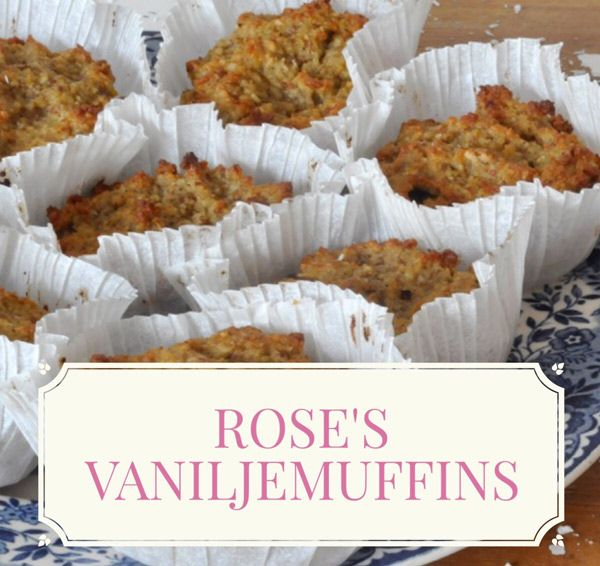 Vaniljemuffins uden sukker og gluten af Rose Maimonide