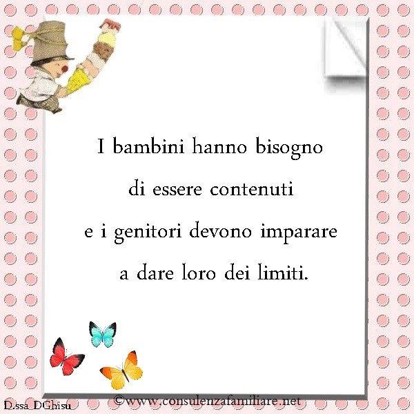 Dare limiti è compito dei #genitori!  #educazione #famiglia #bambini #mamma…