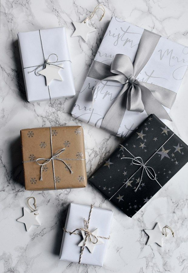 Simple but stylish Christmas gift wrapping with The White Company | These Four W...
