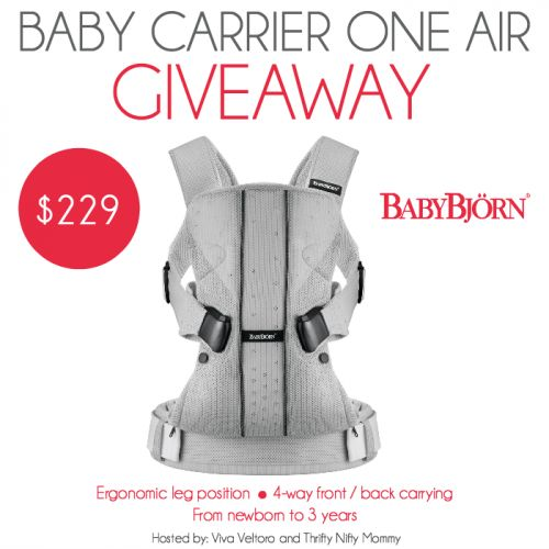 Baby wearing certainly has it's benefits. The BabyBjorn Baby Carrier One Air keeps your little one close & feeling cool. Learn more and win a baby carrier!