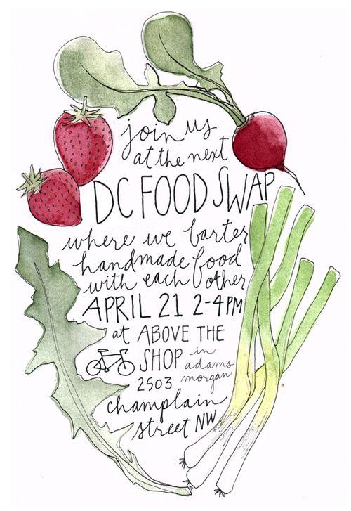 dc food swap - events