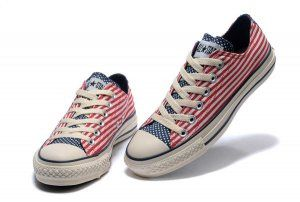 Chuck Taylor All Star Red Specialty Patriotic American Flag Low,Play X Hi Black www.converse-outl... www.converse-outl...