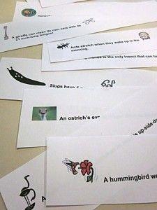 free printable fun fact lunch box notes • Teach Mama