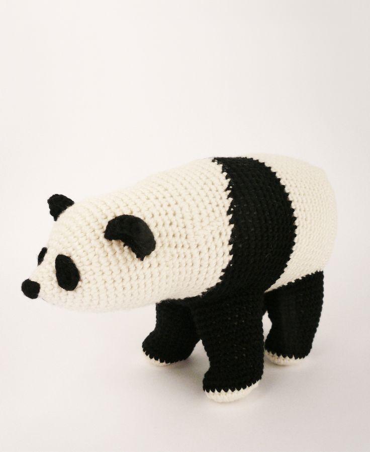 Panda Bear #softy # toy #amigurumi #bear #panda #crochet # handmade