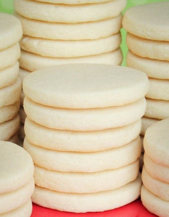 Rolled Sugar Cookies (to try for Christmas)